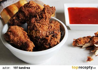 Hot wings  kuřecí křidélka KFC recept