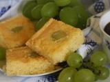 Třený koláč s hroznovým vínem recept