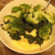 Brokolice se smetanovo-sýrovou omáčkou recept