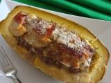 Zapečená špagetová dýně recept