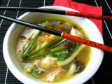 Kuřecí kari polévka recept