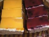 Tvarohový koláč s ovocem a želatinou recept