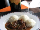 Divoké hovězí na víně recept