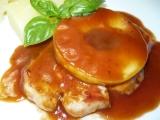 Vepřová žebírka s jablky akečupem recept