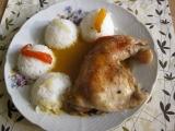 Kuřecí stehna pečená se zeleninou recept