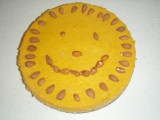 Sluníčkový dýňový koláč recept