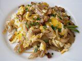 Cibule s míchanými vejci recept