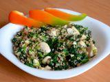 Kuřecí kousky se špenátem a česnekem recept