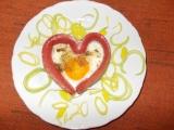 Valentýnská snídaně recept