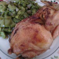 Pečené kuře s medem a pomerančovou šťávou recept