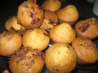 Čokoládové muffiny s buráčky