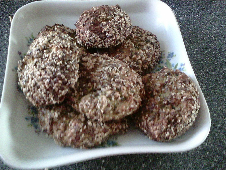 Cuketo-semínkové karbanátky recept
