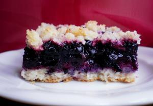 Borůvkový koláč IV.