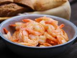 Krevety na másle se studeným dipem recept