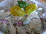 Salát ze syrového květáku recept