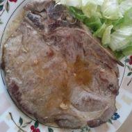 Marinovaná vepřová krkovice s hořčicí recept