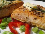 Máslový losos na kmíně recept