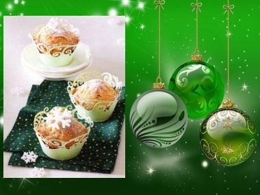 Vánoční šťavnaté muffiny