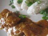 Vepřové plátky na kmíně s rýži recept