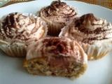 Banánové muffiny s krémem recept