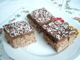 Ořechové řezy s čokoládovým krémem recept