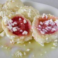 Jahodové knedlíky z odpalovaného těsta recept