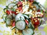 Zeleninový salát k masu recept