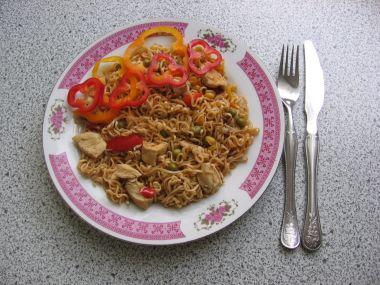 Recept Krůtí maso po čínsku