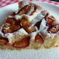 Rychlý švestkový koláč bez drobenky recept