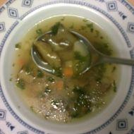 Kořeněná houbová polévka recept
