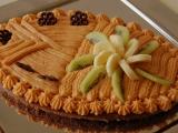 Čokolový dezert s karamelovým krémem recept