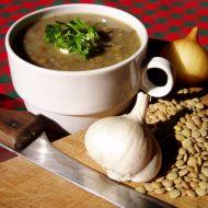 Čočková polévka s uzeným recept