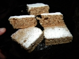Rychlé ořechové řezy- hrnkové recept