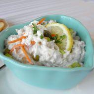 Jemný salát z kapra recept