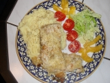 Kapřík na másle s křenovou krustičkou recept