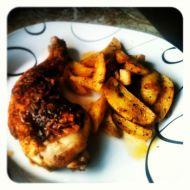 Výtečné pečené brambory recept