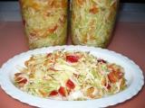 Zelný salát do zásoby recept