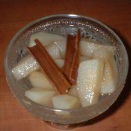 Jablečný kompot se skořicí recept