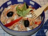 Salát z tuňáka na chlebíčky recept