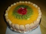 Nepečený dort recept
