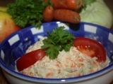 Kedlubnový salát s jablky a mrkví recept