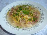 Česneková kuřecí polévka s anglickou slaninou recept ...