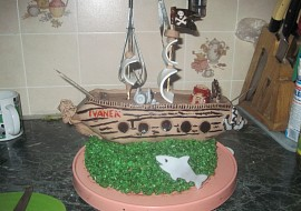 Jak se dělá koráb  sladký dort recept