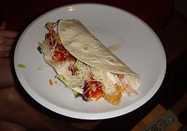 Twister  plněné tortily recept