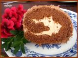 Kakaová roláda s pudinkovým krémem recept