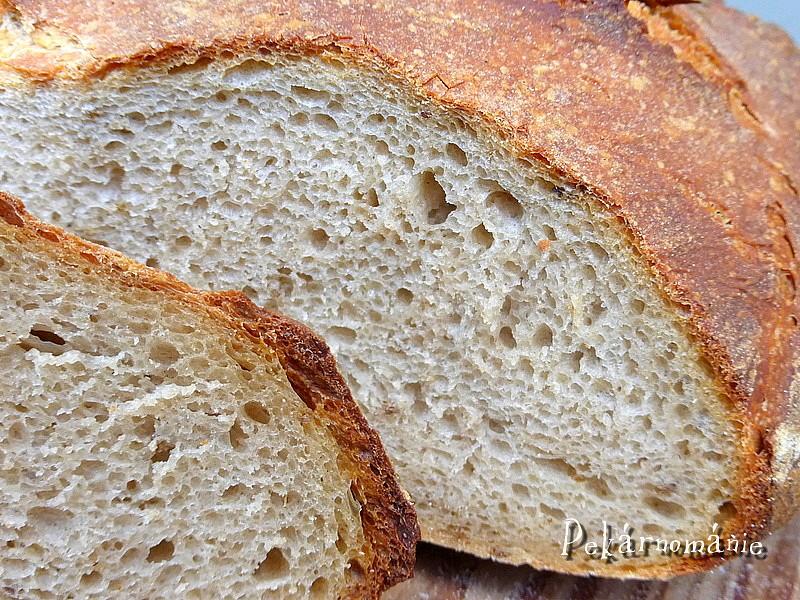 Světlý kváskový chléb recept