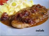 Kuřecí plátky na sušených rajčatech, bylinkách a česneku recept ...