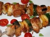 Zeleninovo-masové špízy recept