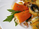Papriky s kysaným zelím ve sladkokyselém nálevu recept ...