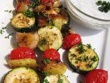 Zeleninový špíz s koprovým dipem recept